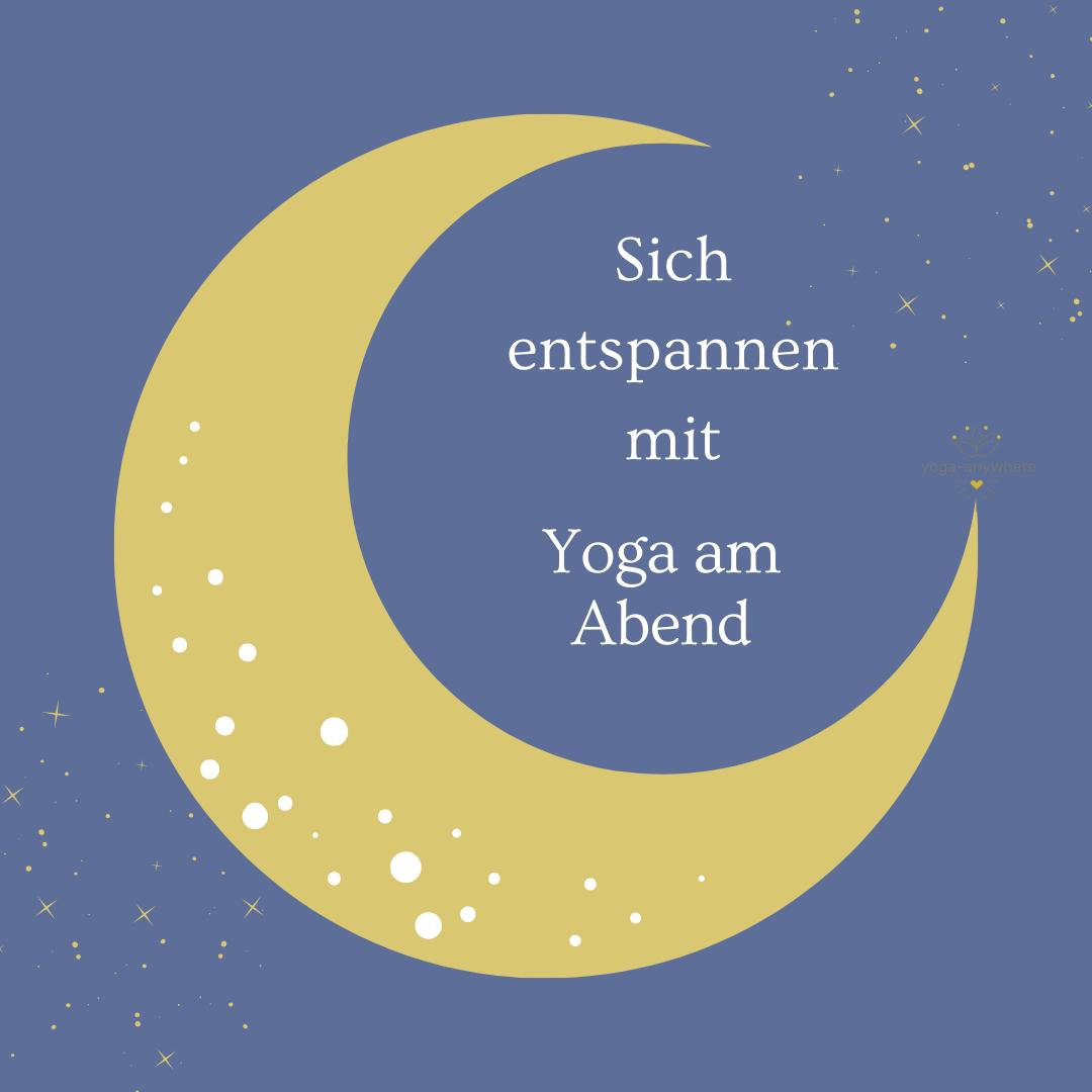 Yoga am Abend Livestream